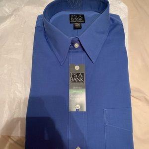 👔 NWT JOS A BANK long sleeve buttonup dress shirt